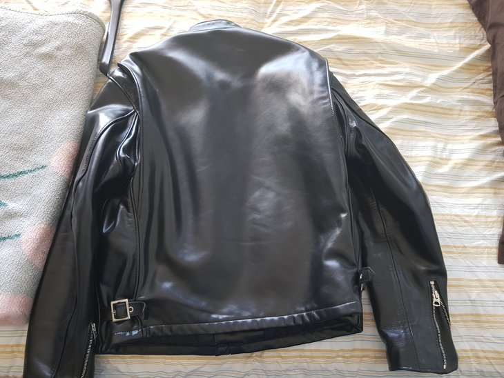 back: gorgeous piece of leather