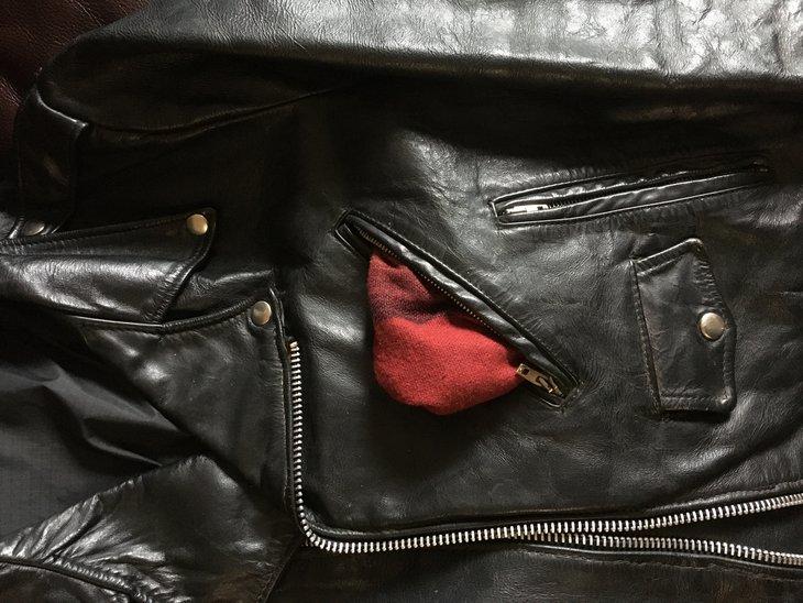 Inner front pocket lining