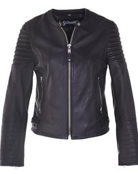 2602W - Womens's Leather Cafe Jacket