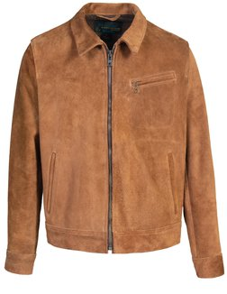 1fb9d35c217 HORWEEN HORSEHIDE CLEAN PERFECTO LEATHER JACKET.  1