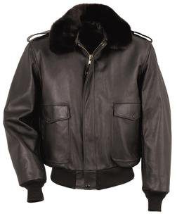 Leather Flight Jacket - Schott NYC
