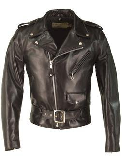 316009f42 618HH - Horsehide Perfecto Leather Jacket (Black)