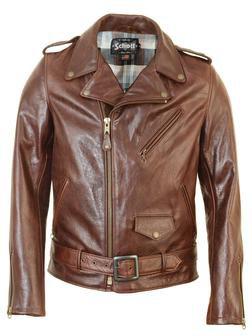 Schott 626 Brown Leather Jacket