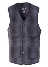 745V - Men's Wool Plaid Vest