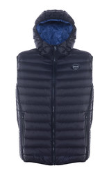 9515DV - Nylon Ultra Light Down Filled Silverado Vest With Hood