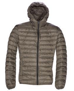 9515D - Nylon Ultra Light Down Filled Silverado Jacket with Hood