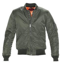 9628 - Men's Nylon Flight Jacket (Sage)
