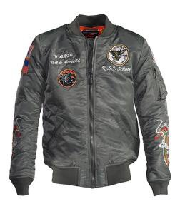9629 - Men's Nylon Flight Jacket
