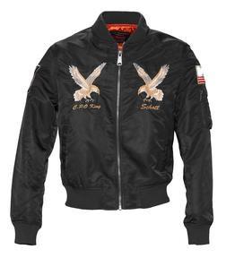 9722 - Nylon MA-1 Flight Jacket