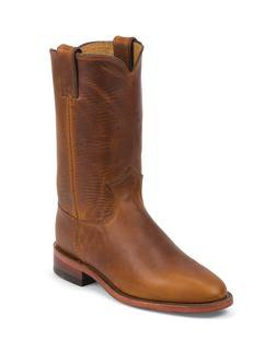 """W60TR - Chippewa Women's 10"""" Roper Boots (Tan)"""