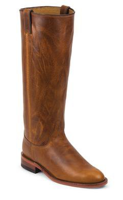"""W62TR - Chippewa Women's 15"""" Roper Boots (Tan)"""
