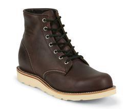 """M16CD - Chippewa Boots 6"""" Plain Toe Wedge"""