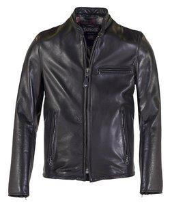 5ef5fda6e 530 - Waxed Natural Pebbled Cowhide Café Leather Jacket