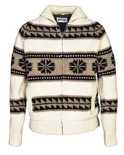 F1604 - Men's Sherpa Lined Sweater Jacket