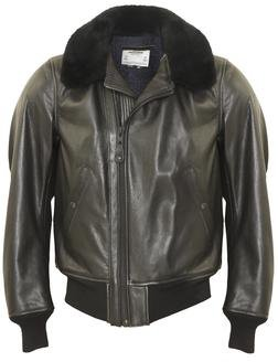 P215 - B-15 Leather Flight Jacket