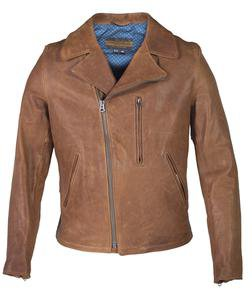 P264 - Men's Genuine Lambskin Biker Jacket
