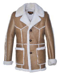 P265 - Men's Shearling Coat