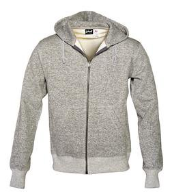 PF03 - Zip Front Sweatshirt (Heather Grey)
