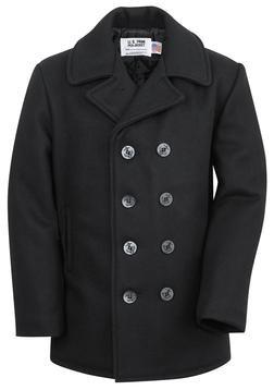 Classic 32 Oz. Melton Wool Navy Men Peacoat 8fade6938cac