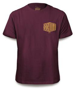 THEX1 - Hex Logo Tee (Burgundy)