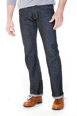US6039 - 13 Oz. Japanese Selvedge Denim Jeans