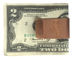 A700 - Schott Brothers Money Clip (Copper)