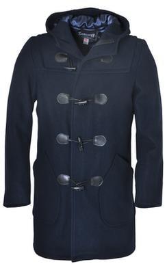 DU748 - Satin Lined Duffle Coat