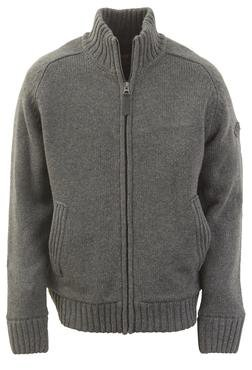 """F1250 - 27"""" Wool/Acrylic Blend Zip Front Sweater"""