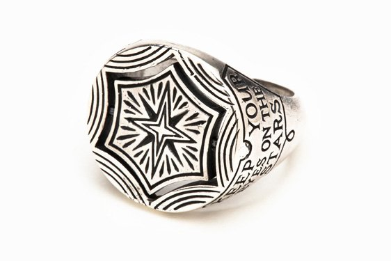 REYES - Digby & Iona Eyes & Stars Ring (Silver)