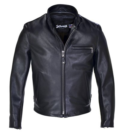 Classic Racer Leather Motorcycle Jacket - Schott NYC