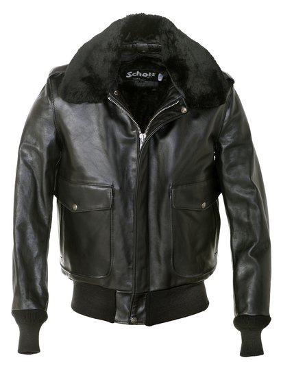d8bd4e90df4 Leather Flight Jacket - Schott NYC