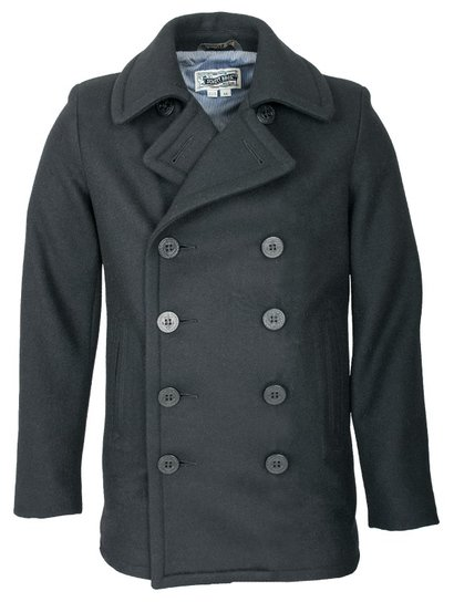 Men's Pea Coats - Schott NYC