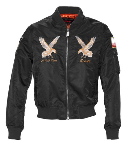 Men's Nylon MA-1 Flight Jacket