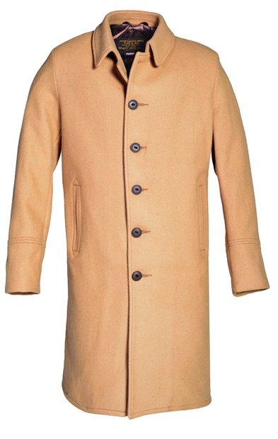867e2ec24b9e Wool Officer s Trenchcoat With No Epaulets