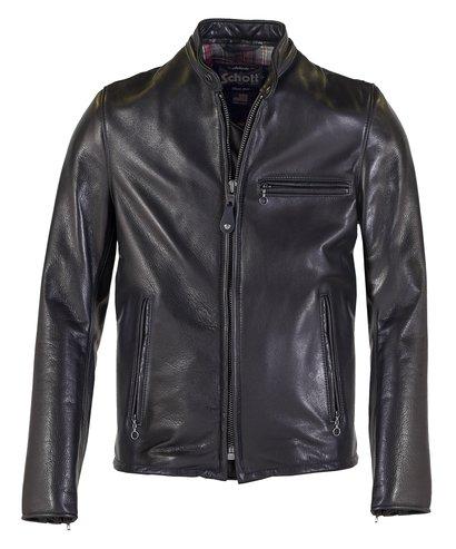 7ab804a4b30c Cafe Racer Leather Jacket