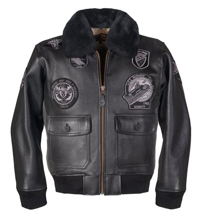 Schott Bomber Jacket - G-1 Leather